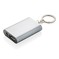 Power bank 1000 mAh, brelok do kluczy (P324.192)