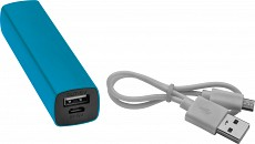 Power bank 2200 mAh - jasno niebieski - (GM-20343-24)